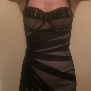 D&G strapless dress